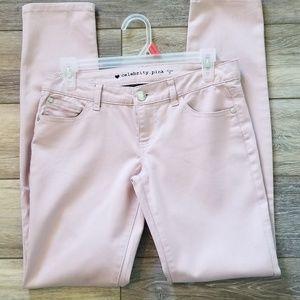 Celebrity pink dusty rose Jean's size 5 regular